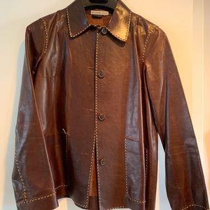 Vintage Michael Kors leather jacket
